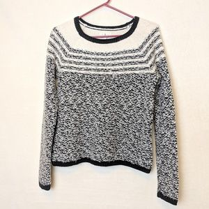 Lou & Grey, wool cotton sweater, knit, small